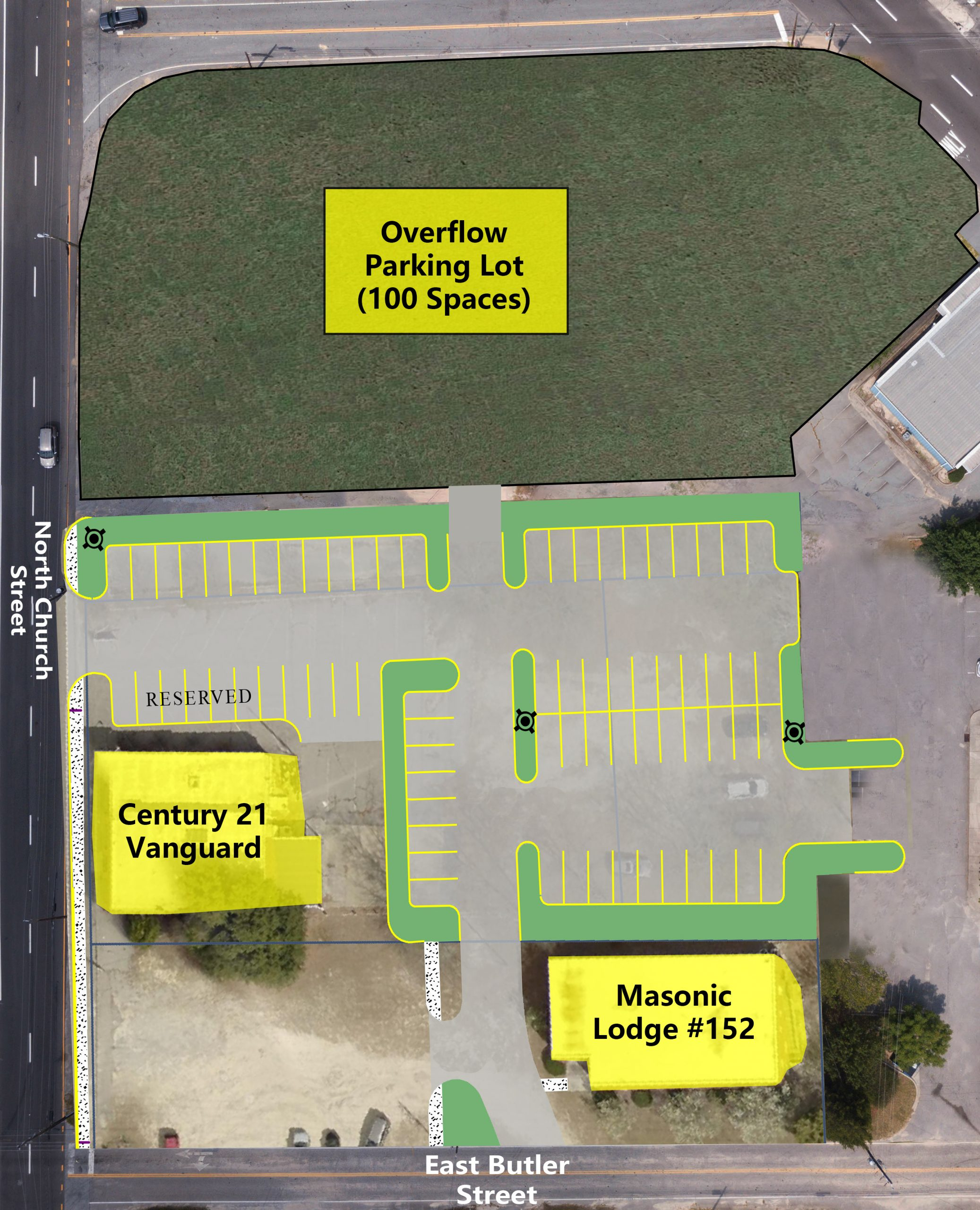 Town of Lexington Expands Downtown Parking with 165 new spots