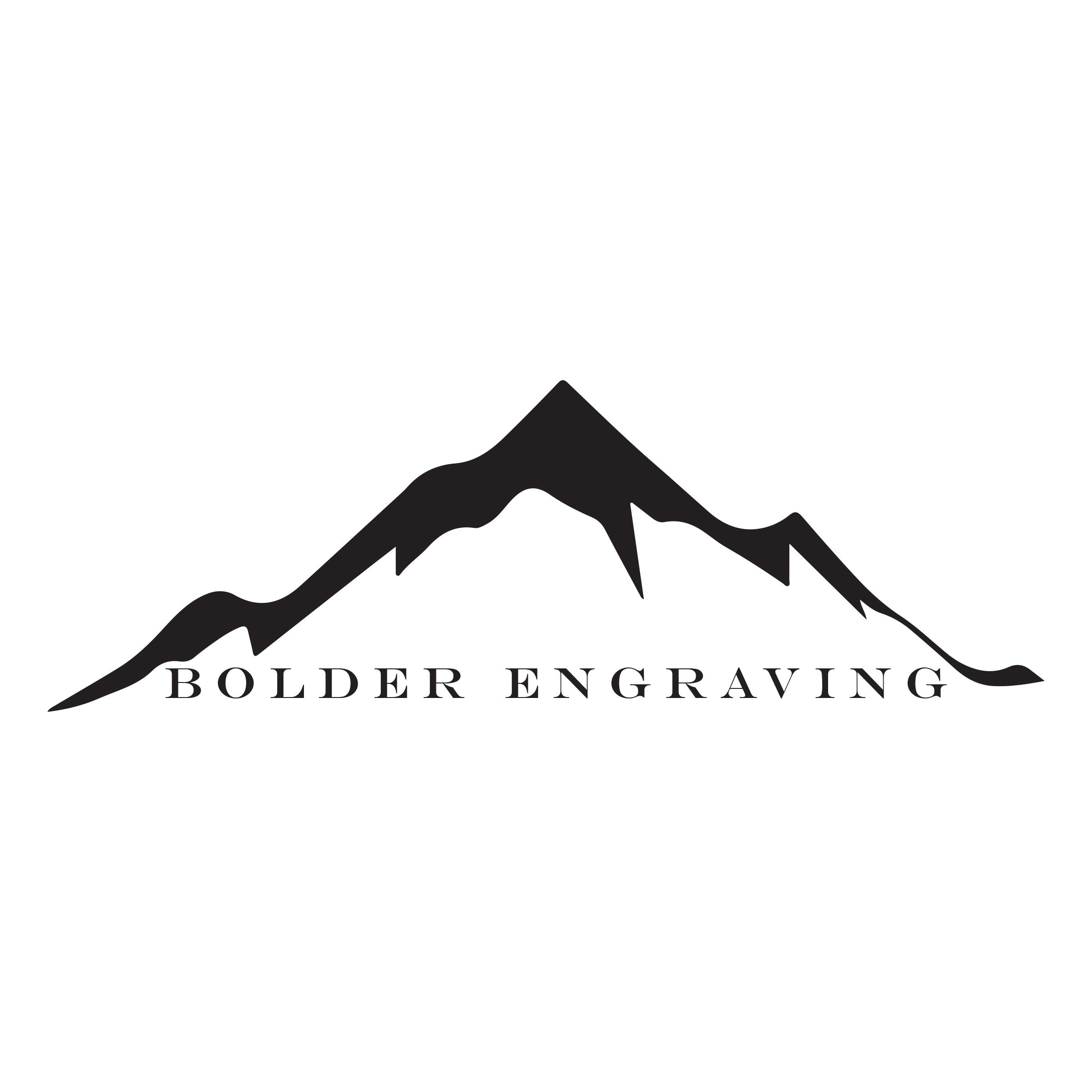 Bolder Engraving