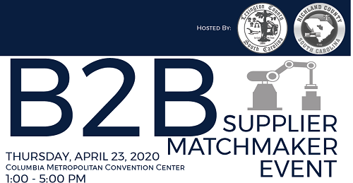 Lexington, Richland counties to host 2nd annual B2B Supplier Matchmaker Event