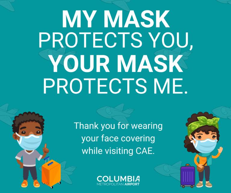 COVID-19/Coronavirus Updates at Columbia Metropolitan Airport