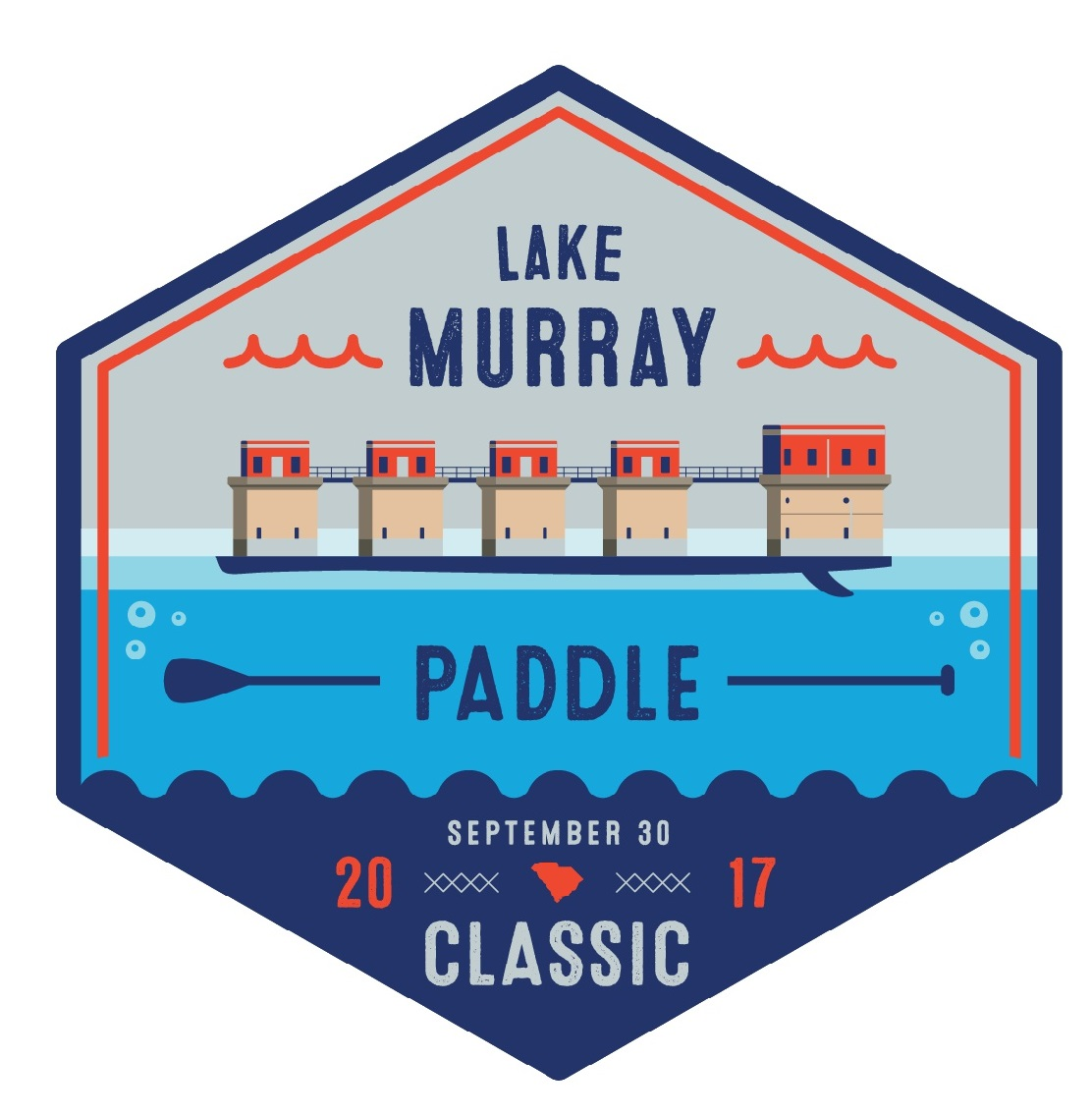 Win two race registrations for the 2017 Lake Murray Paddle Classic!