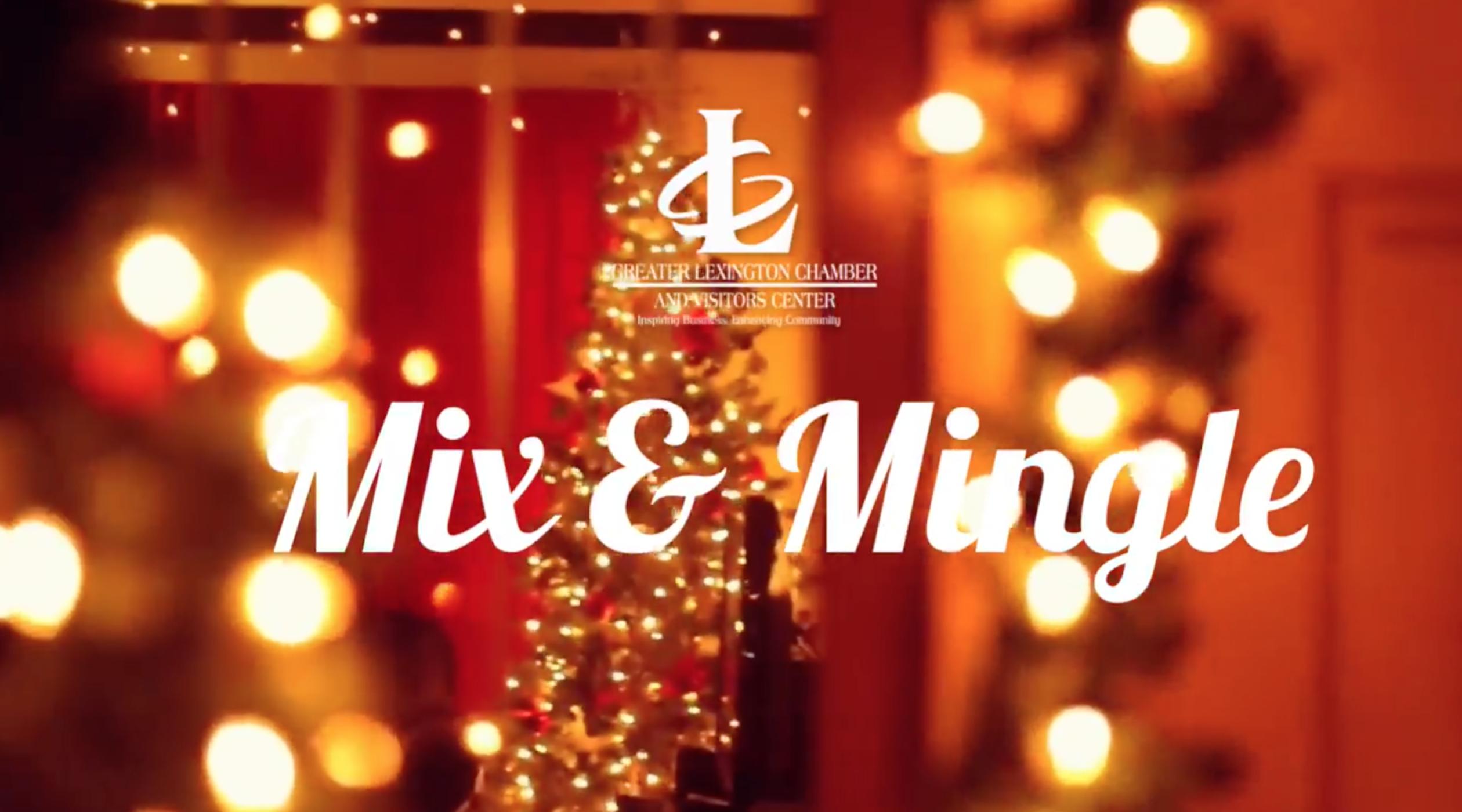 Save The Date: Mix & Mingle, Dec. 4