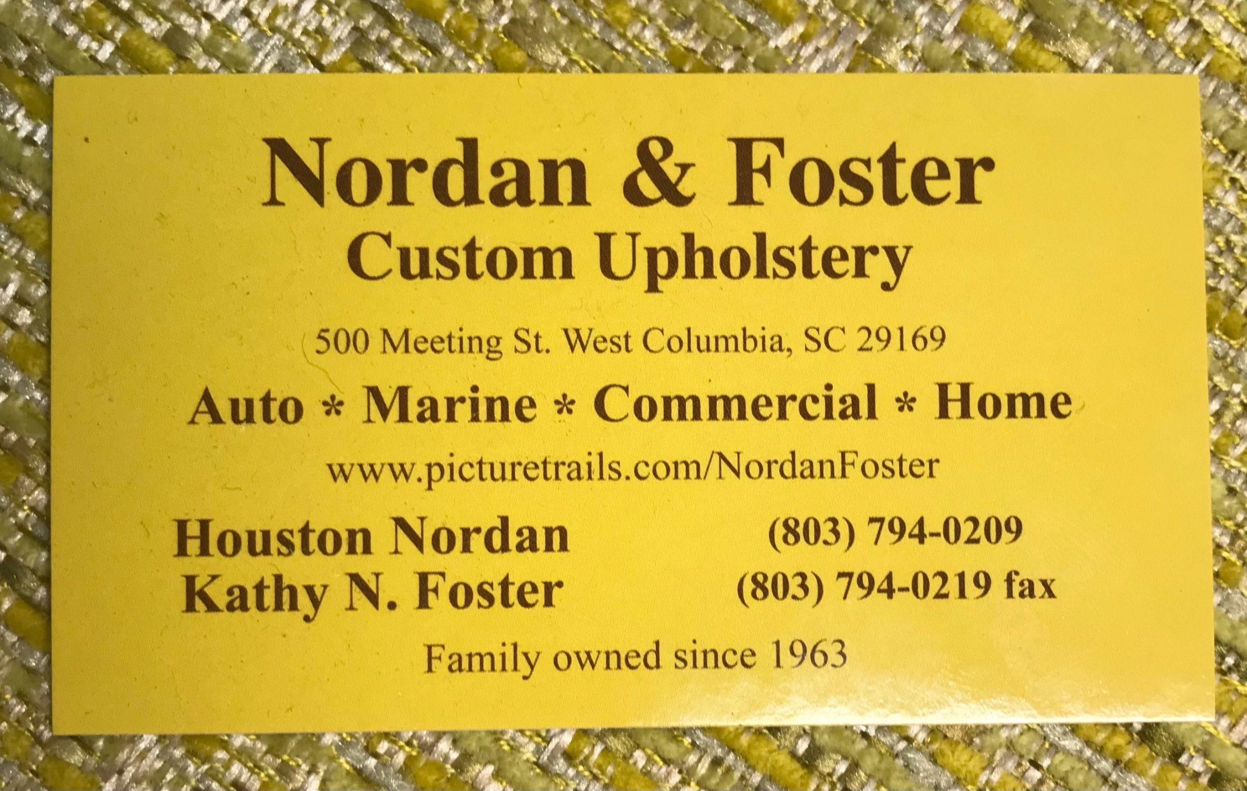 Nordans Trim Shop, LLC under new Owners