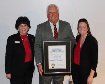 Lexington Chamber Former President/CEO Otis Rawl Receives Order of The Palmetto