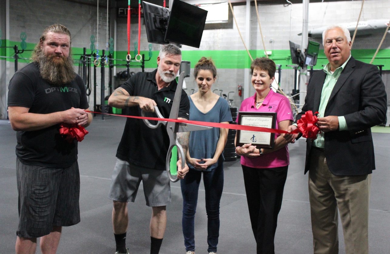 Crossfit Optimize brings fitness to a new level!