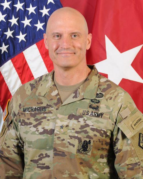 Meet Business Over Breakfast Speaker Brigadier General Patrick R. Michaelis